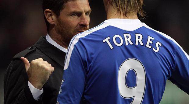 Andre Villas-Boas (left) and Fernando Torres