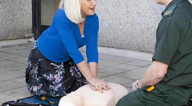 Dame Helen Mirren is patron of the Voluntary Responder Group