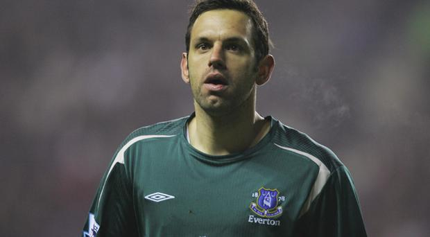 <b>Richard Wright</b><br /> Wright was ruled out of Everton's FA Cup fourth-round replay at Chelsea after suffering a freak injury during the warm-up. Wright ignored a notice warning him not to practise in the goalmouth and promptly fell over the sign, suffering a twisted ankle. The same player also damaged his shoulder falling through a loft as he was trying to pack away his suitcases.