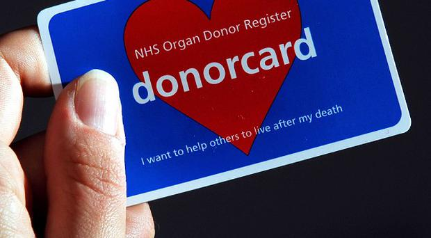 Tests are being carried out on a liquid used in organ donations in case bacteria has contaminated it
