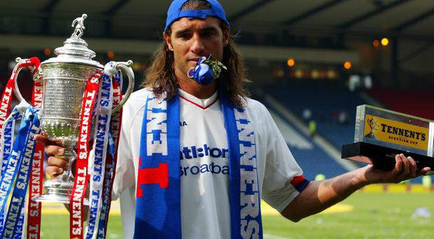 Lorenzo Amoruso claims Rangers proved their class