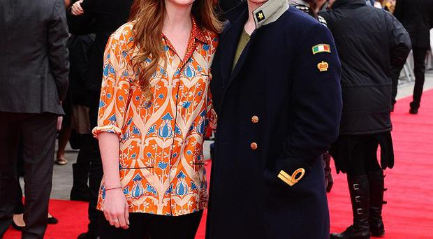 Bonnie Wright and Rupert Grint arrive at the grand opening of the Warner Brothers Studio Tour