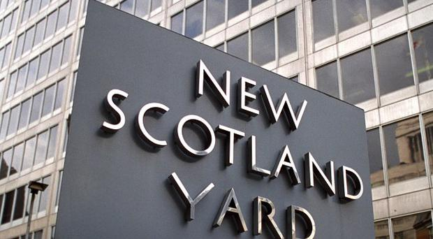 A Metropolitan Police officer has been suspended over allegations he made racist remarks to a black man