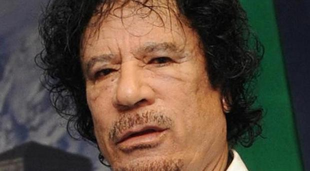 Former dictator Muammar Gaddafi was killled after an uprising in Libya