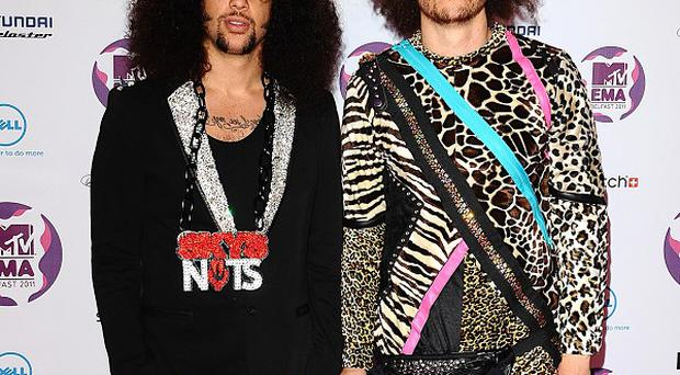 Redfoo and SkyBlu have made Madonna an honourary member of LMFAO