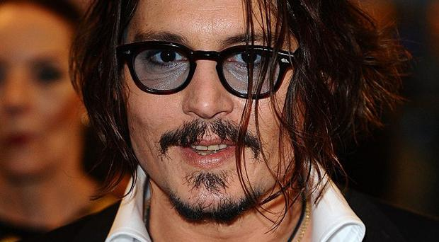 Johnny Depp is waiting for a leading lady in The Thin Man