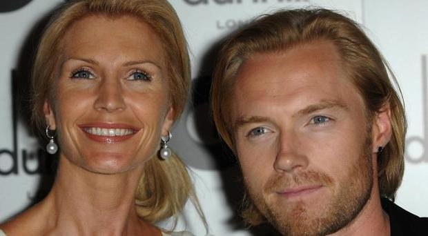 Ronan Keating and wife Yvonne in London. Keating and his wife Yvonne have confirmed they have split after 14 years of marriage.