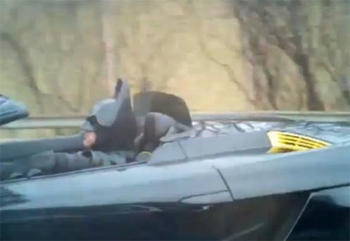 'Batman' was pulled over by police in Maryland
