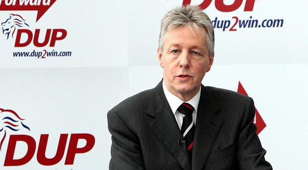 First Minister Peter Robinson said unionism must incorporate a 'patchwork quilt' of identities