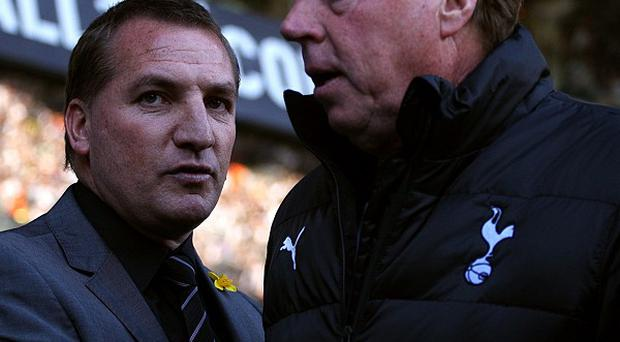 Brendan Rodgers (left) and Harry Redknapp
