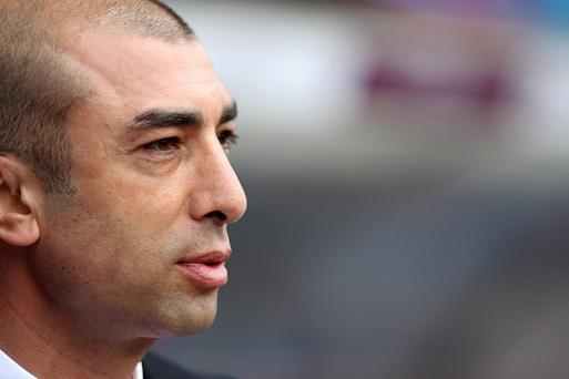 Roberto Di Matteo has taken charge of Chelsea on a caretaker basis after the dismissal of Andre Villas-Boas