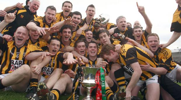 Crossmaglen Rangers celebrate another All-Ireland title