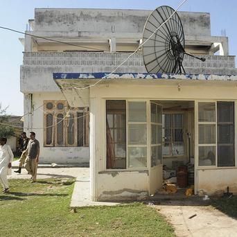 Osama bin Laden's house in Abbottabad, Pakistan where he was killed (AP)