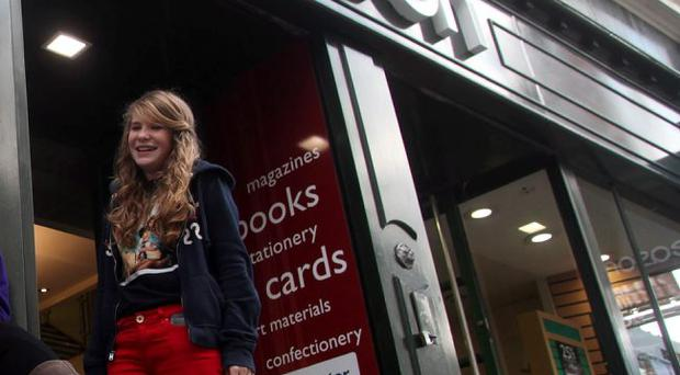 Eason: shutting down two stores in Northern Ireland