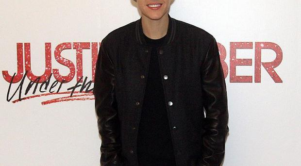 Baby singer Justin Bieber scooped the Juno Fan Choice gong