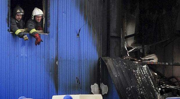 Fifteen migrant workers have been killed in a fire on the outskirts of Moscow