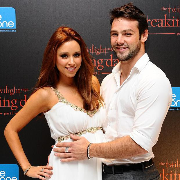 Ben Foden and Una Healy spoke of how their baby choked shortly after birth