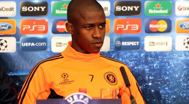 Chelsea's Ramires during a press conference yesterday at Stamford Bridge, London