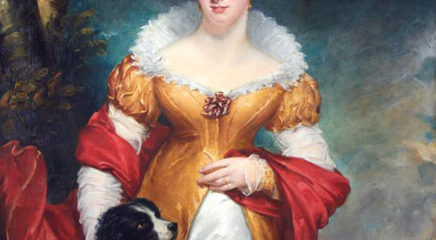Fundraiser: the portrait of Lady Catherine Staples which trustees want to bring back to Lissan House in Tyrone