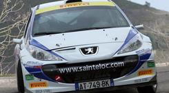Irish dream: Craig Breen, 2011 WRC Academy winner and current leader of the World S2000 series, wants to win on home soil