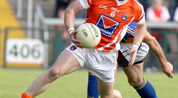 Ready to go: Ciaran McKeever will face Donegal after escaping a two-match ban