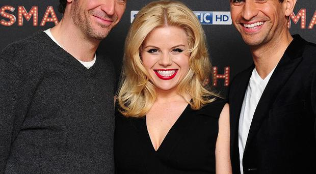 Jack Davenport, Megan Hilty and Raza Jaffrey star in new musical drama Smash