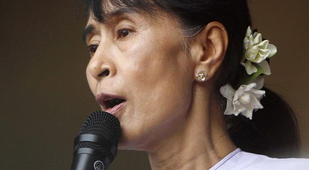 National League for Democracy leader Aung San Suu Kyi won 43 seats in by-elections last weekend (AP)