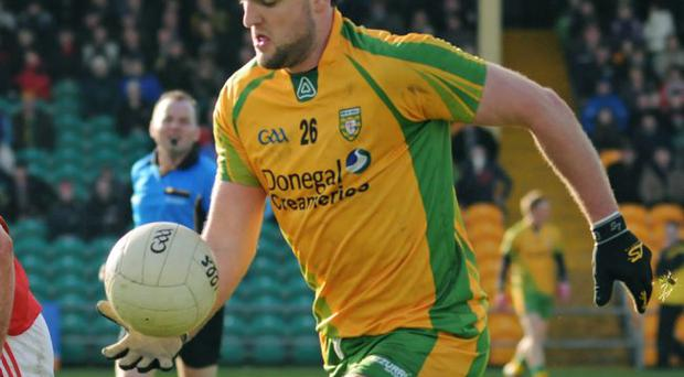 Big blow: Michael Murphy's absence from the Donegal team is making things difficult for boss Jim McGuinness