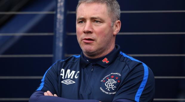 Rangers manager Ally McCoist will be hoping the club can rebuild after their problems this season