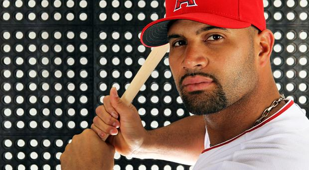 Albert Pujols left the St Louis Cardinals last December and signed for the Los Angeles Angels