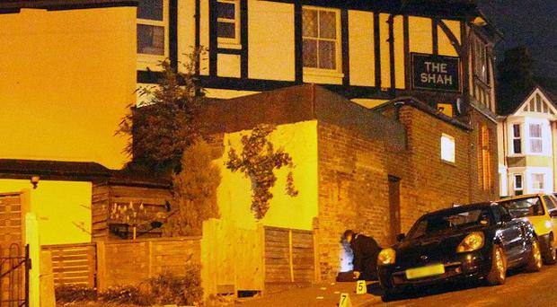 The Shah pub in Hastings near where a 17-year-old was stabbed to death