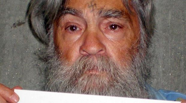 This recent photo of Charles Manson was released the week before his parole hearing (AP)