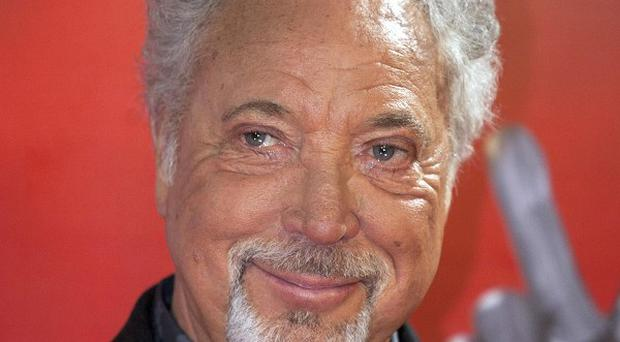 Sir Tom Jones has revealed another major Welsh celebrity gave birth to her son while listening to the veteran crooner's music
