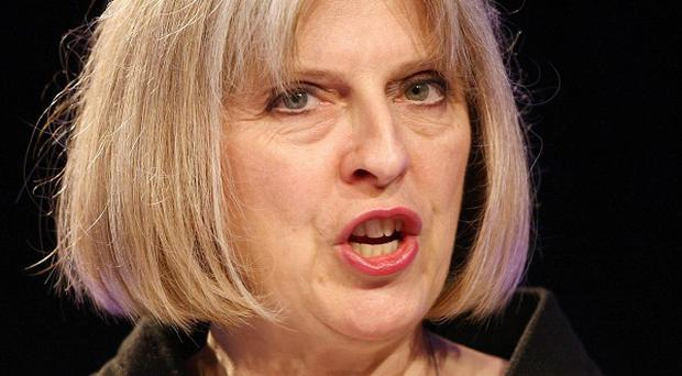 Home Secretary Theresa May said Sheikh Raed Salah's presence in the UK was 'not conducive to the public good'
