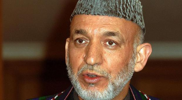 Afghanistan president Hamid Karzai has called previously for all international night raids to cease
