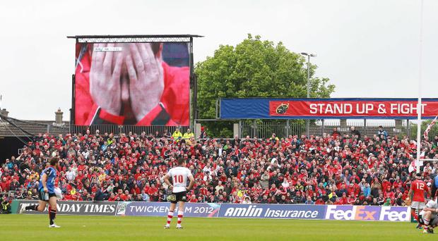 Thomond Park is the venue that Ulster face Connacht, Buenos Aires and Golden Lions of South Africa in World Rugby Club 7s