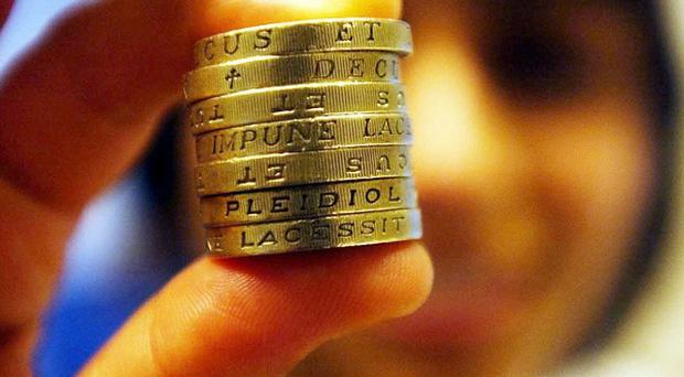 Average state pension payments will rise to 124 pounds a week