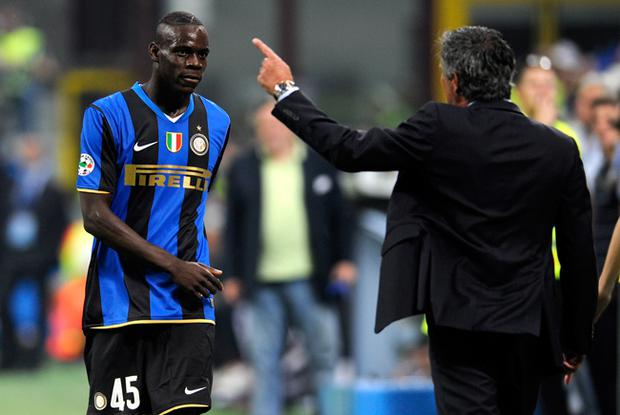 <b>Dropped from Inter Milan squad (November 2008)</b><br /> Becomes youngest Inter Milan goalscorer in the Champions League, netting against Anorthosis Famagusta. Despite this, Balotelli is dropped from the squad shortly afterwards with coach Jose Mourinho citing a poor attitude.