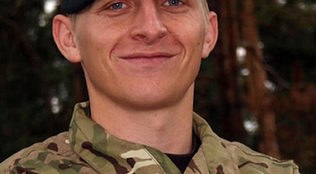 Corporal Jack Stanley from The Queen's Royal Hussars (The Queen's Own and Royal Irish), who has died at a Birmingham hospital