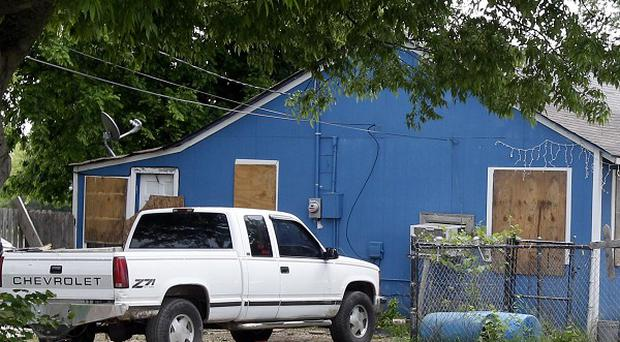 The home of Jake England and Alvin Watts in Tulsa, Oklahoma (AP/Sue Ogrocki)