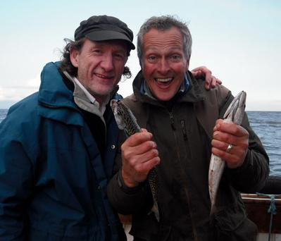 Catch of the day: Paul Rankin and Nick Nairn in the Big Food Trip