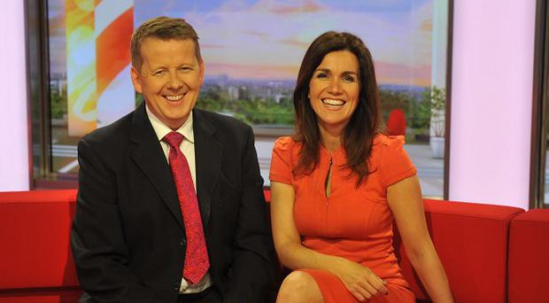 Bill Turnbull and Susanna Reid presented the show from Salford
