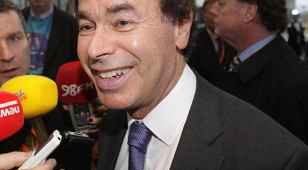Minister for Justice Alan Shatter is angry over the Anglo Irish Bank fraud probe