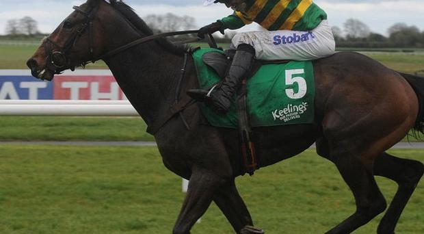 Tony McCoy in full cry on Get Me Out Of Here at Fairyhouse