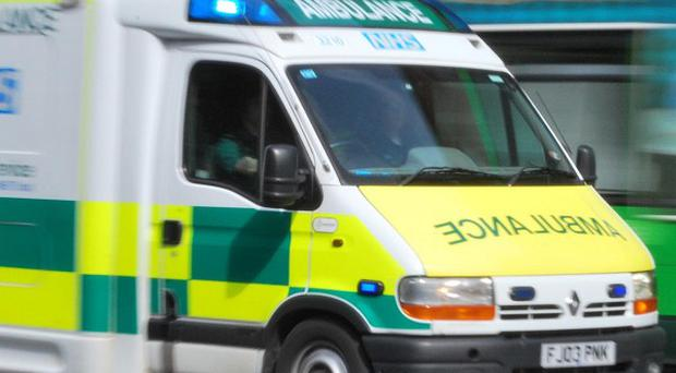 A four-year-old boy was rushed to hospital after he was stabbed in Mansfield