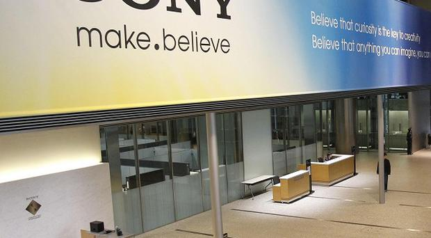 Sony has more than doubled its projected annual loss to 520 billion yen due to a massive tax charge (AP)