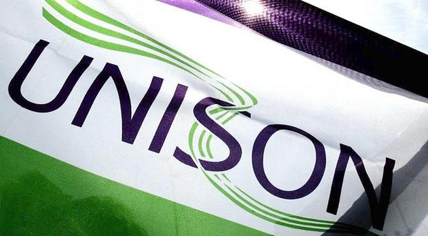 Unison is to ballot its 450,000 health service members on whether to accept the pension reforms