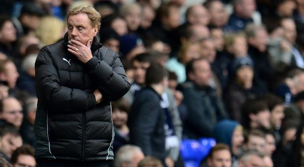 Harry Redknapp is tipped ot leave Spurs at the end of the season to take on the England job