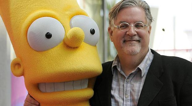 Matt Groening, creator of the animated series The Simpsons (AP)