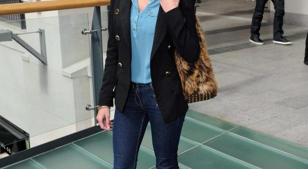 ©Press Eye Ltd Northern Ireland - 5th April 2012Fashion spy at Victoria square Belfast Lyndsey Cree from Newtownabbey Mandatory Credit - Picture by Stephen Hamilton /Presseye.com